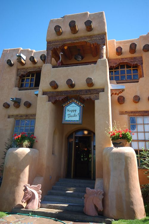 Small Spanish Style Homes Plans Thom Wheeler's Adobe Studio And House, Taos, New Mexico