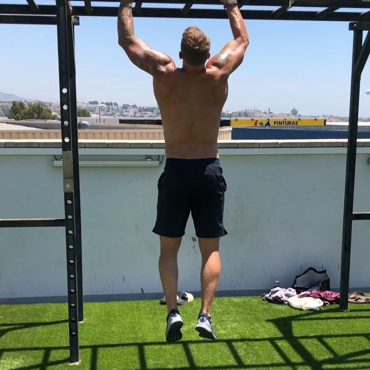 Thank You Upmarbella For Today Your Rooftop Gym Is Amazing Ultimateperformancemarbella Crossfit Cfswe Icehockey Rooftop Gym Terrace Gym Outdoor Gym