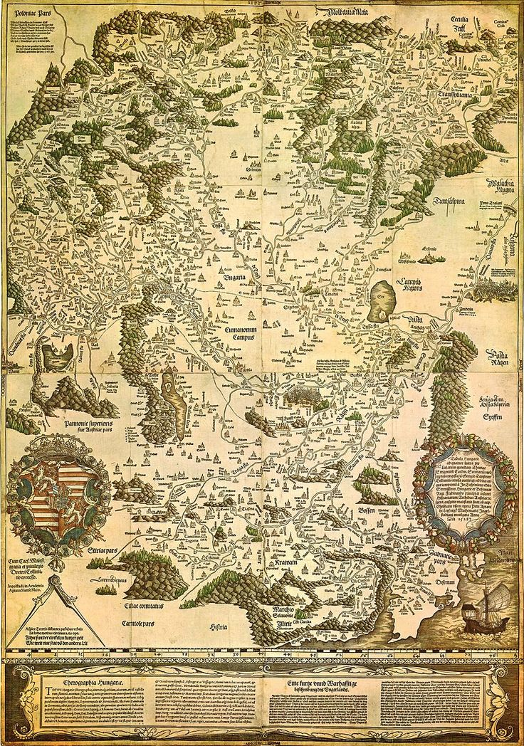 Kingdom of Hungary Map
