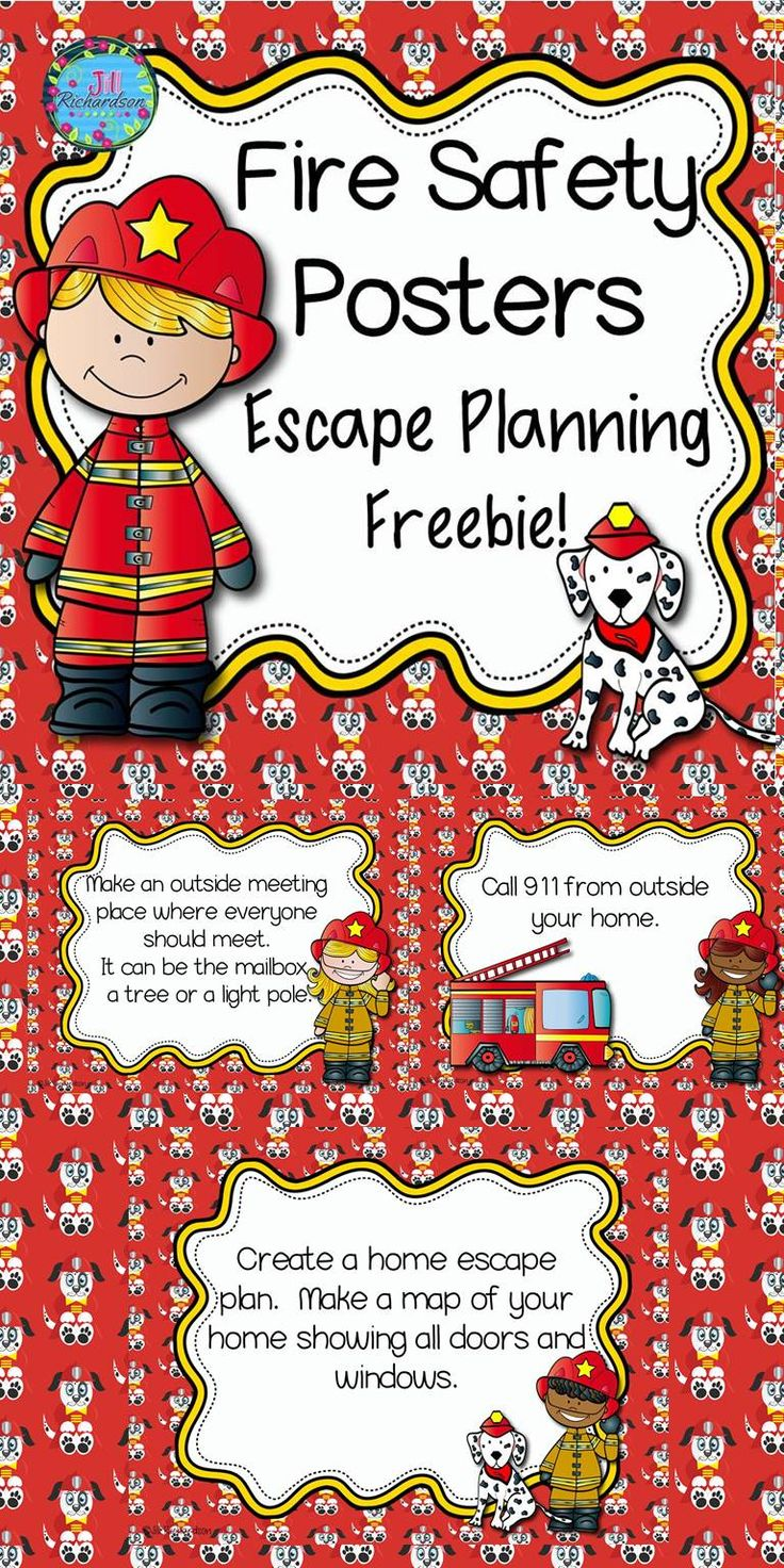 I hope this freebie will help your little ones stay safe! Included: 8 Fire Safety Escape Planning Posters! This product was featured in Teachers Pay Teachers Newsletter!