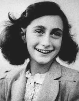 Anne Frank. What remarkable spirit she had. She died of typhus within
