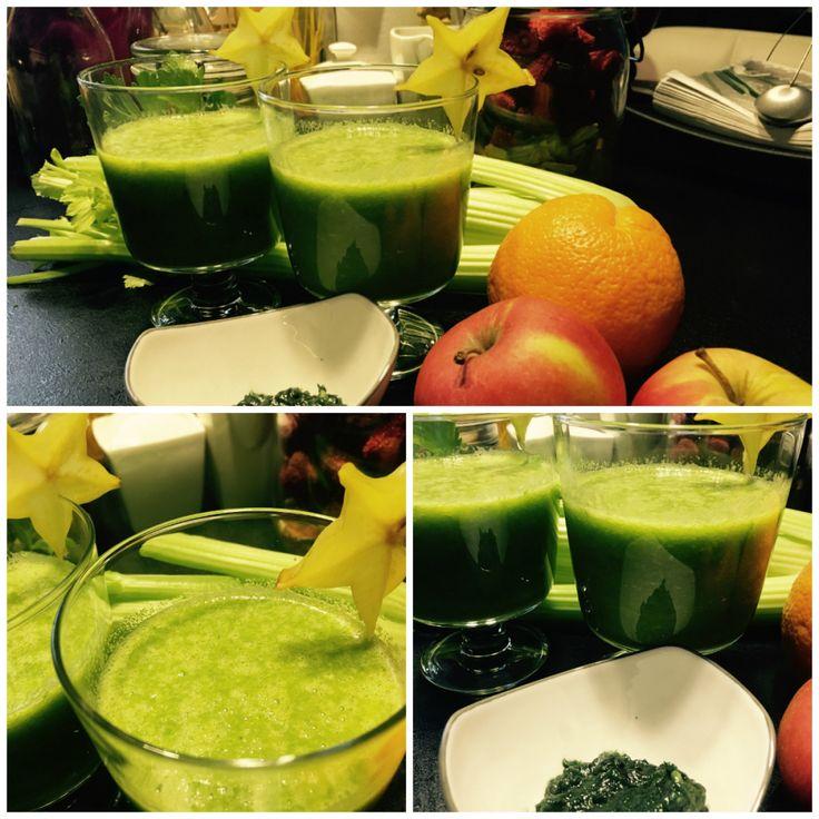 zielony shake