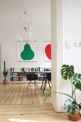 SoLebIch.de - Das Wohn- und Lifestyle-Netzwerk #esszimmer #diningroom #cactus #interior #interiordecor #interiordesign #eames