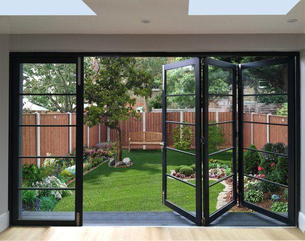 Our Cedar Doors With Square Plant On BeadsCedar Bifold Company CedarBifold