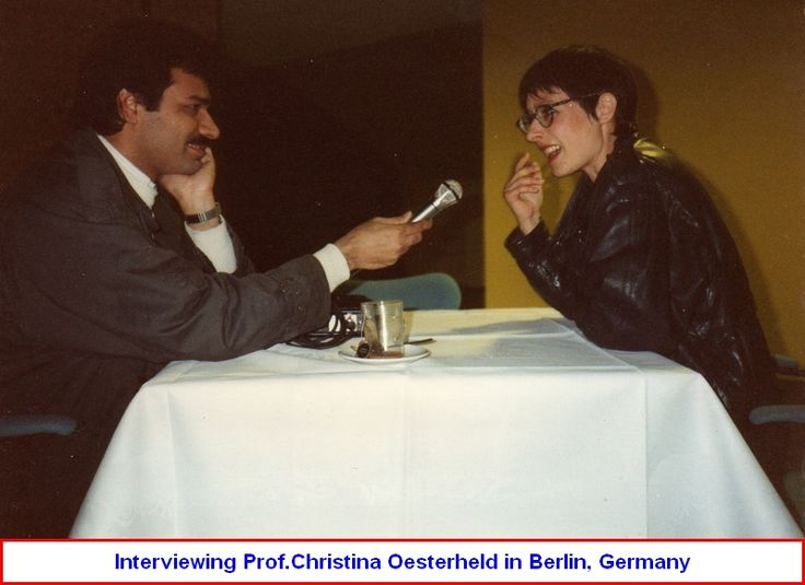 Hamid Yazdani & Dr. Christina Oesterheld in Germany