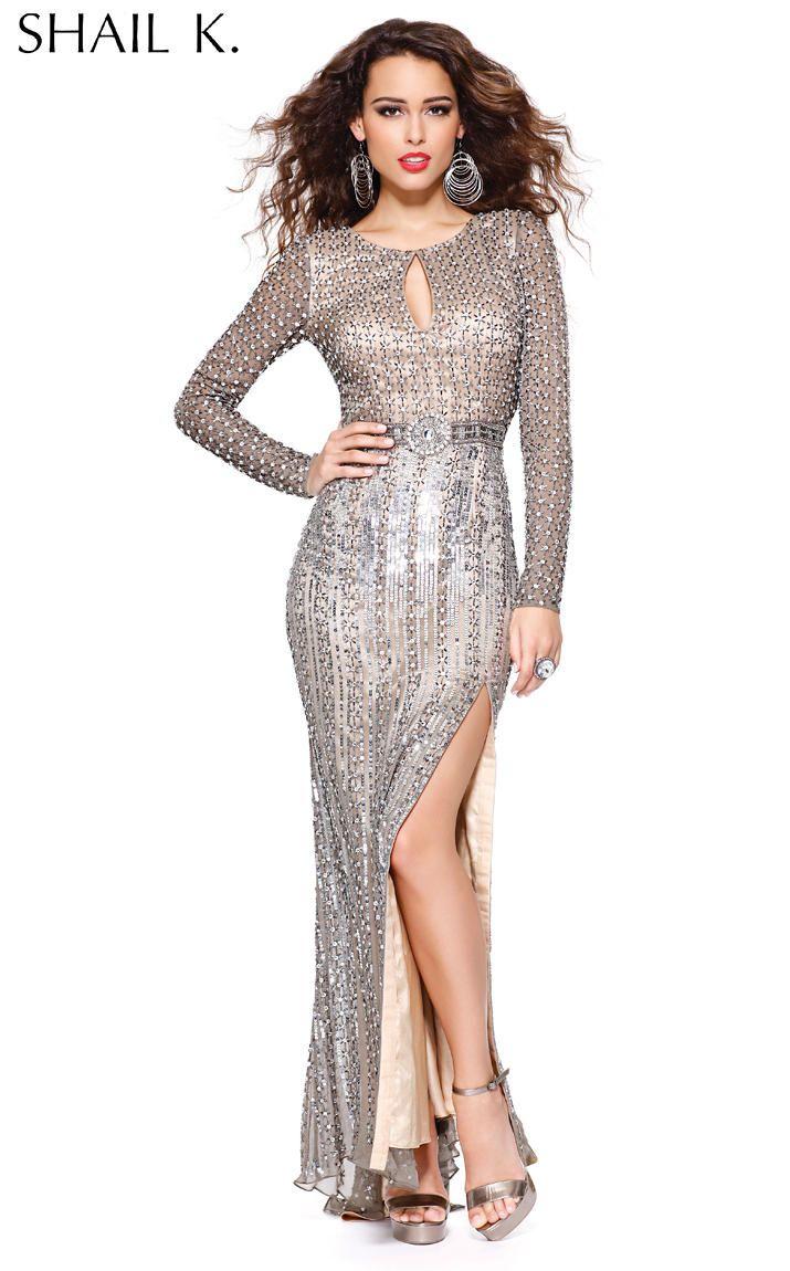 Shail k gold dress