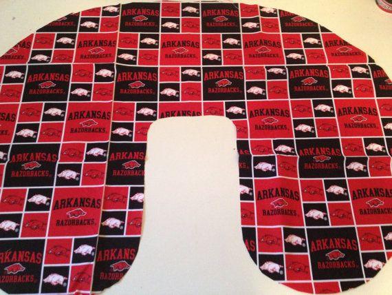 University of Arkansas Razorbacks Boppy Cover by TooterBugDesignss, $24.50