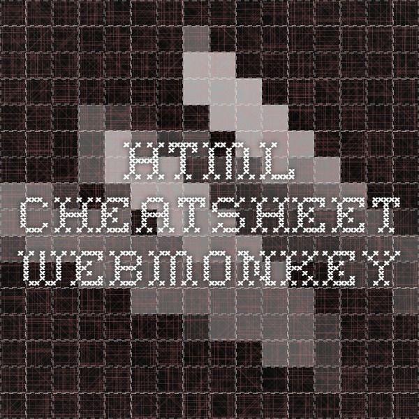 Html Cheatsheet Webmonkey Organized Entrepreneur Pinterest