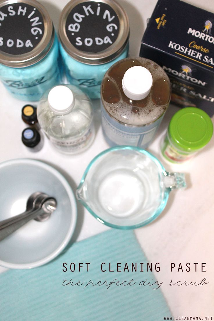 Love using it to clean all the nooks and crannies of my bathroom - Diy Cleaners Soft Cleaning Paste