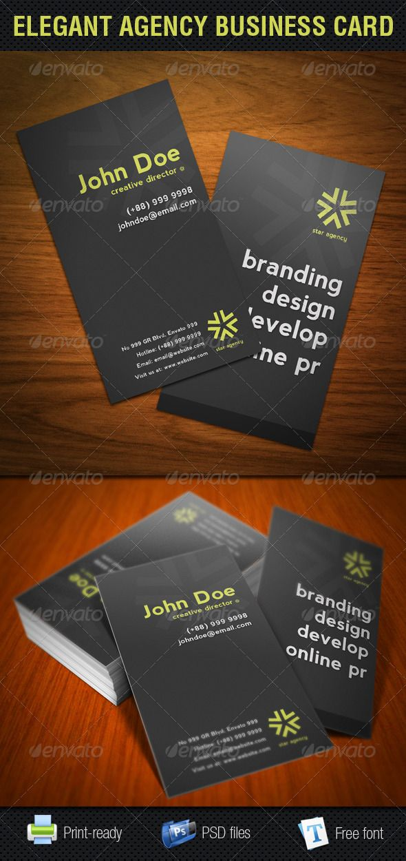 28 best BUSINESS CARDS images on Pinterest | Print templates ...