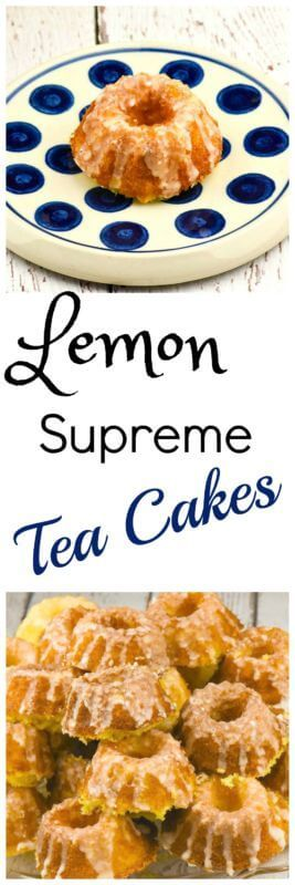 awesome Lemon Supreme Tea Cakes