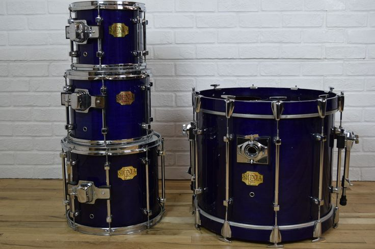 Premier Signia maple shell drum set kit excellent condition-used drums for sale