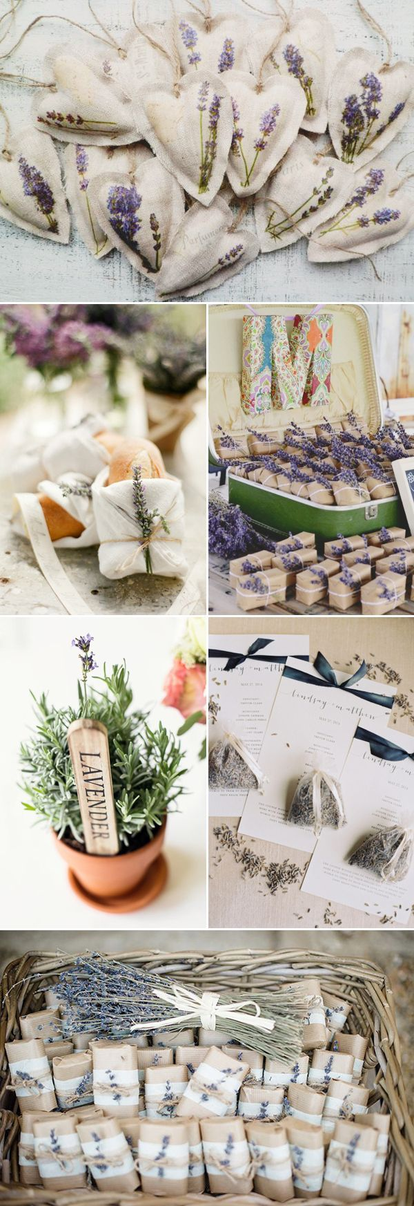 45 Romantic Ways to decorate your wedding with lavender! - Wedding Favor!