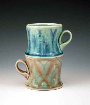 Mugs By Andrea Denniston Ceramics Pottery Mugs
