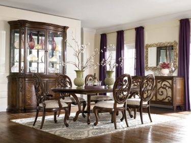 7 Pc Jessica Mcclintock Couture Rennaissance Rectangular Table Dining Room  Set Manufacturer: American Drew