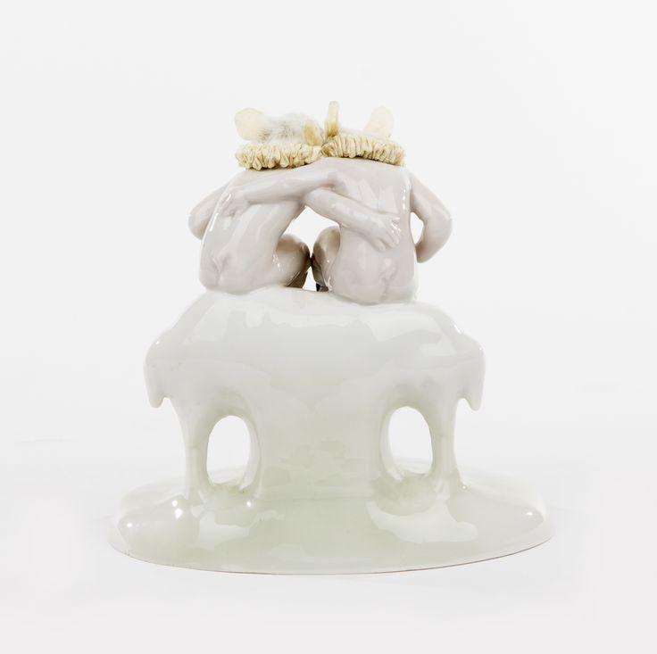 Les Deux Garçons - Jij durft! Tu en as de culot! (2014) (BACK) | collection museum Beelden aan Zee.