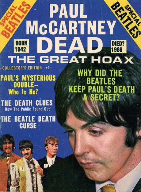One of the most famous urban legends in pop culture history remains the alleged death of Paul McCartney.