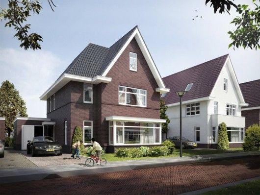 Meer dan 1000 idee n over witte buitenkant huizen op pinterest buitenkant huis verven - Veranda met dakpan ...