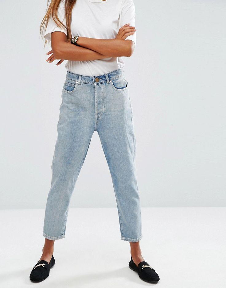 Damen jeans karottenform