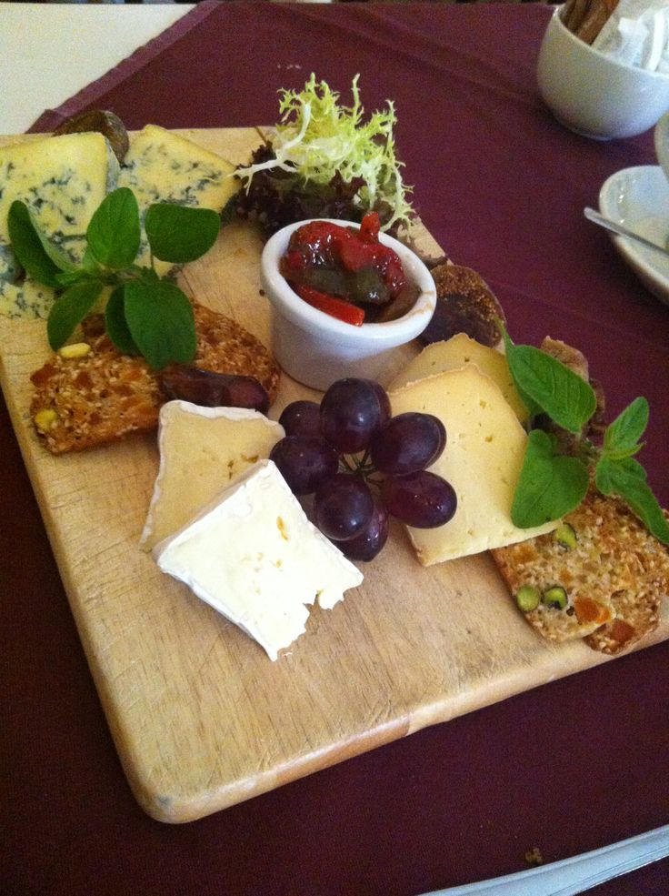 Delicious cheese board from Befani's restaurant in Clonmel, Co. Tipperary , Ireland