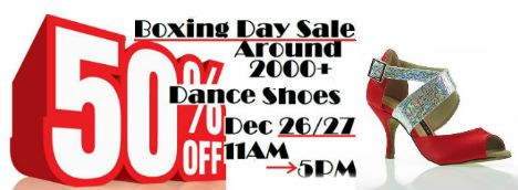 Boxing Day Shoe Sale