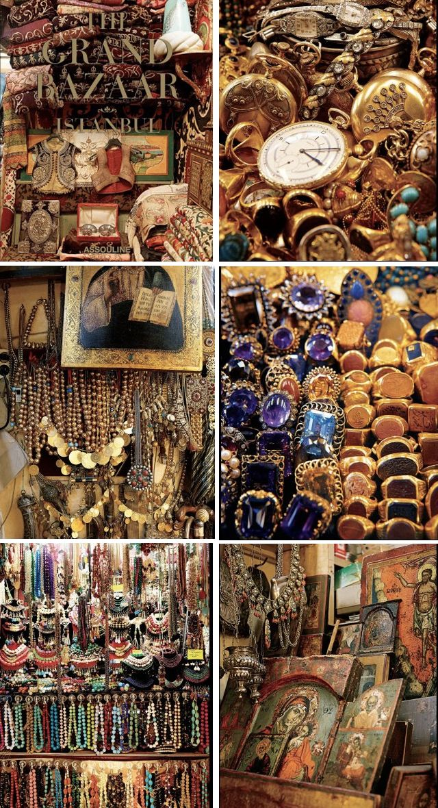 Istanbul's Grand Bazaar --- can you imagine the shopping there this summer maybe ?? @Katie Fradette