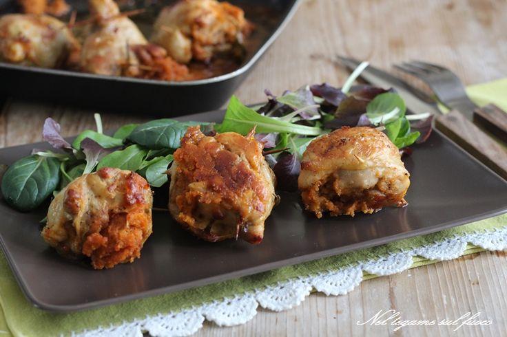 Cosce di pollo ripiene / ricetta con foto passo passo