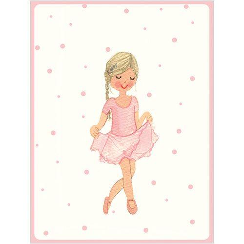 B042 Ballet Girl Gift Card. www.gailscards.com.au