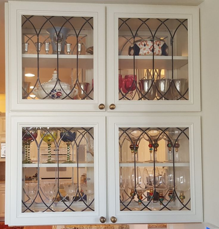 Stained Glass & Art Glass For Cabinet Door Inserts For