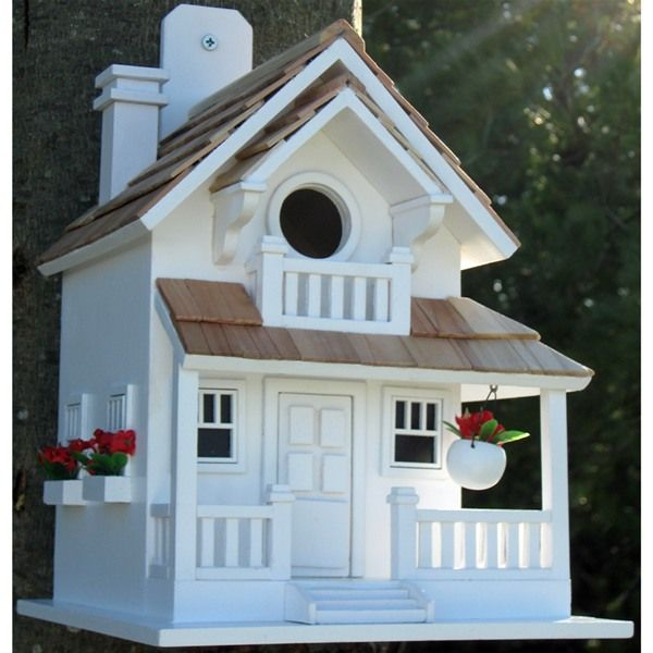 unique bird house | Backyard Bird Cottage Decorative Bird House | Internet Gardener
