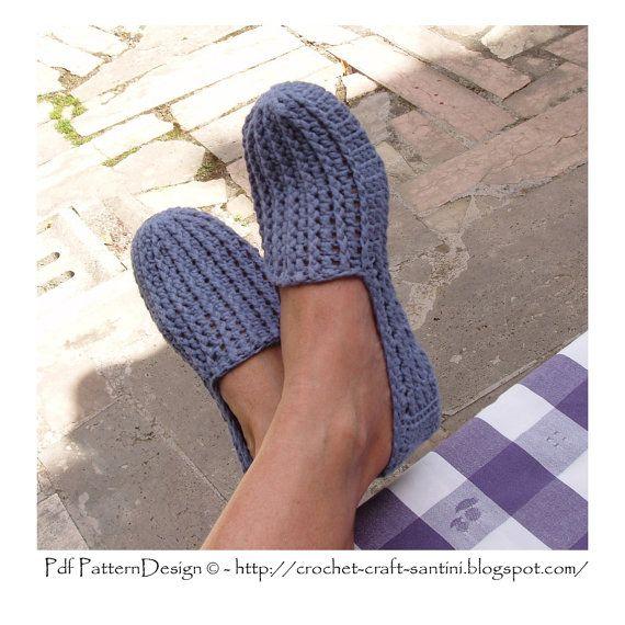 Denim LoaferEspadrilles  The Basic Slipper by PdfPatternDesign, €5.00
