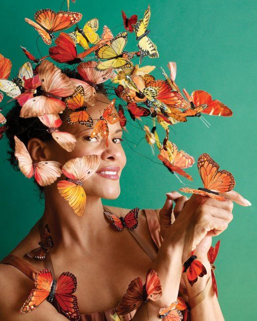 Madame Butterfly Costume | Step-by-Step | DIY Craft How To's and Instructions| Martha Stewart