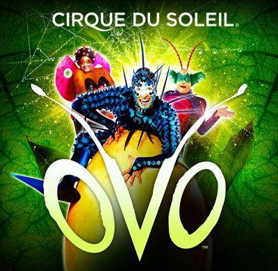 Новое представление цирка Дю Солей