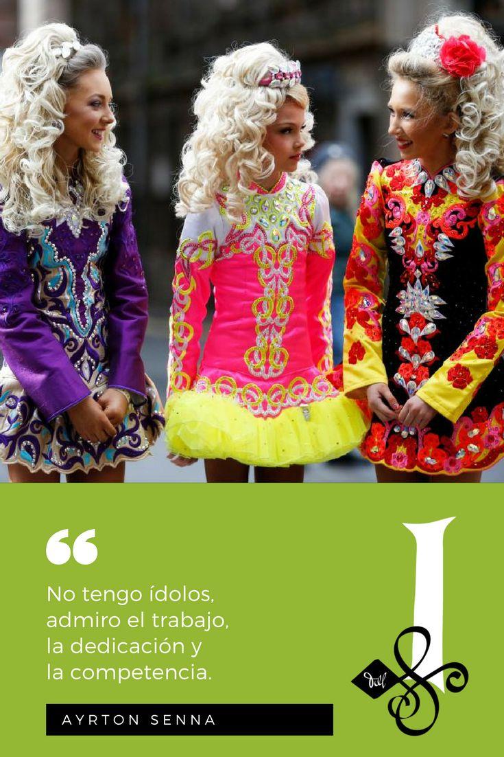 """📜 """"No tengo ídolos, admiro el trabajo,  la dedicación y la competencia.""""  — #AyrtonSenna. 🖋   👉 #Citas #DanzaIrlandesa  💚 #InishfreeMexico™ 🇲🇽 #TaniaMartínez 🍀 #InishfreePedregal 🇲🇽 #InishfreeToluca #Quotes #IrishDance 👯  📸 #Photo: Getty Images"""