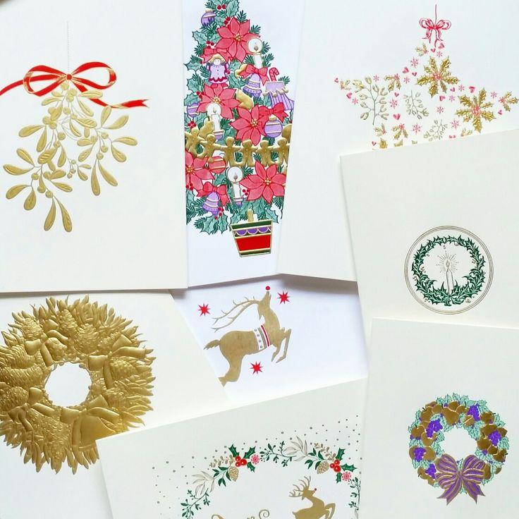 Engraved christmas card heaven from grosvenorstationerycompany.com