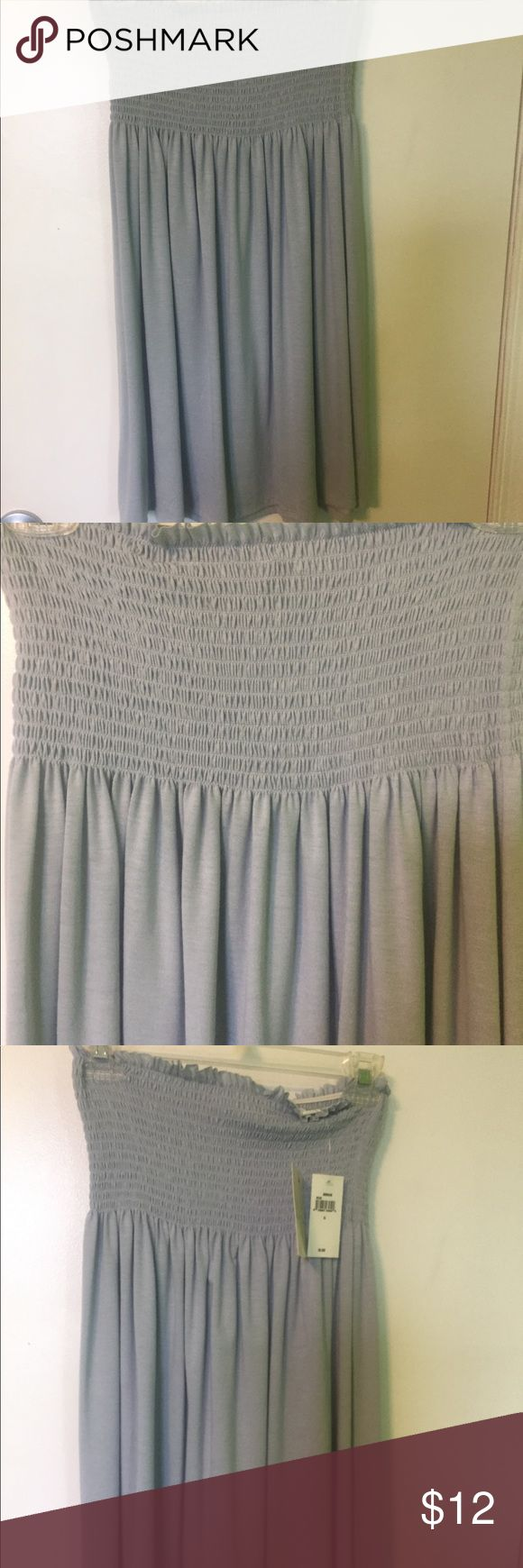 Women's Small Strapless Sundress Women's Small Strapless sundress. It's kind of a lighter blue color. It has never been worn. Excellent condition. Dresses Strapless