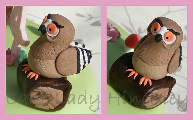 Cake Lady Hinckley - Owl - My Daughters Gruffalo Cake by Cake Lady Hinckley_Life_is_delicious (Stacy), via Flickr