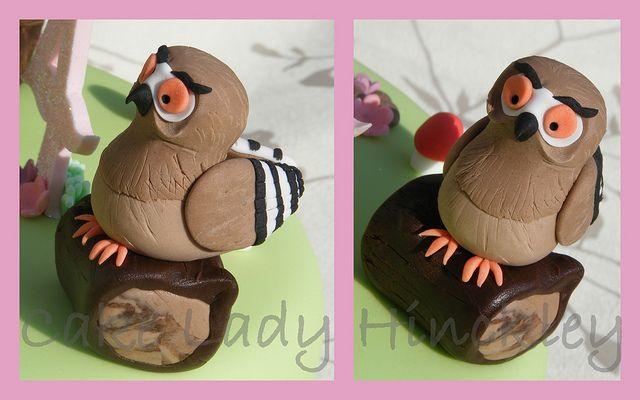 Cake Lady Hinckley - Owl - My Daughters Gruffalo Cake by Cake Lady Hinckley_Life_is_delicious (Stacy), via Flickr