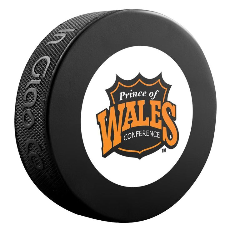 Prince Of Wales Conference NHL Souvenir Puck