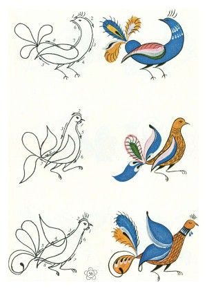 Книга по изобразительному искусству (ИЗО) по теме: Уфтюжская роспись | Социальная сеть работников образования