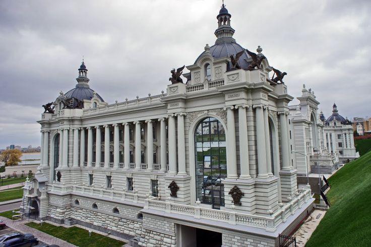 Западное крыло Дворца Земледелия КАЗАНЬ!!!!