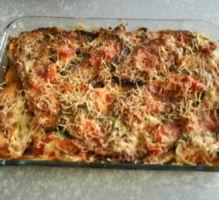 Recette - Gratin d'aubergine et tomates - Proposée par 750 grammes