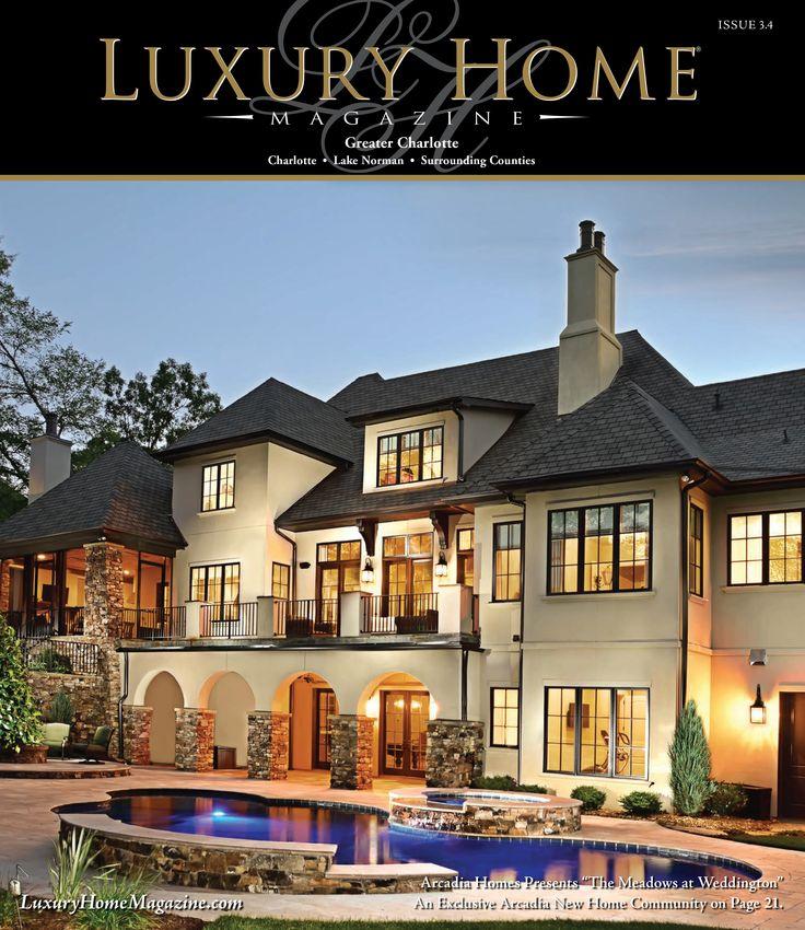 Luxury Homes Magazine Charlotte Nc