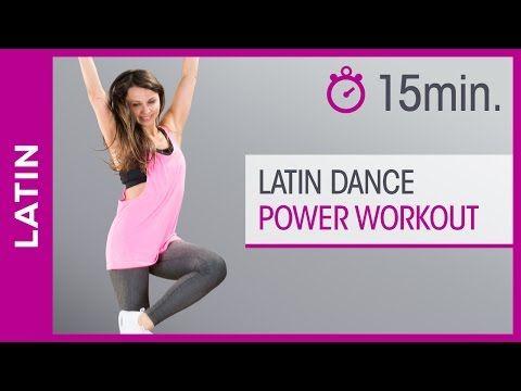 Latin tanzen lernen für Anfänger - Dance Fitness Workout zum Abnehmen - Tanz mit Anna - HD - YouTube