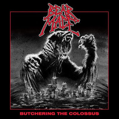 BEHIND THE VEIL WEBZINE: BEAR MACE – Butchering the Colossus Review