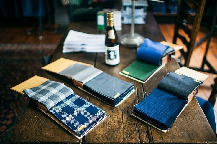 Menswear blog D'Marge dropped past M.J. Bale to meet our master tailor Kaneko. Photo: D'Marge
