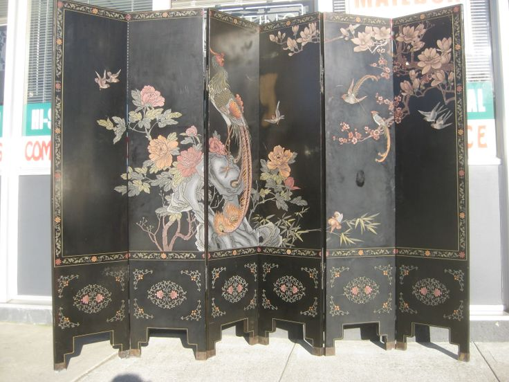 chinese screens room dividers       FURNITURE   COLLECTIBLES  SOLD   Six  Panel. 105 best SCREENS images on Pinterest   Room dividers  Screens and