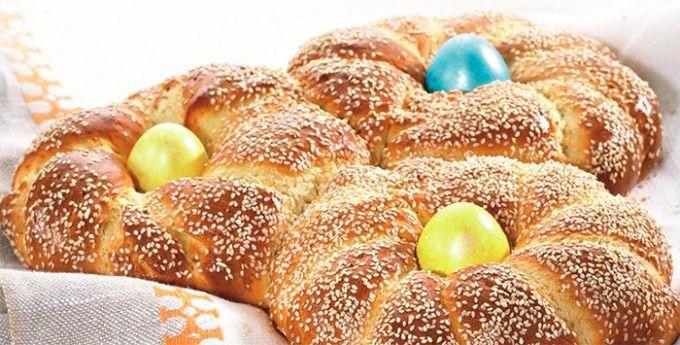 Velikonoční řecké pletýnky | NejRecept.cz
