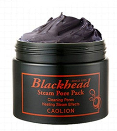 Caolion Blackhead Steam Pore Pack Premium 100g ** Learn more by visiting the image link.