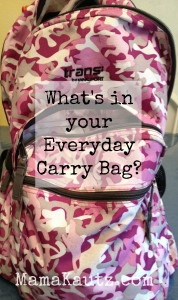 What's in your EDC or Everyday Carry Bag #preppertalk #preppermom